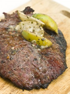 Paleo Flank Steak with Chimichurri Sauce
