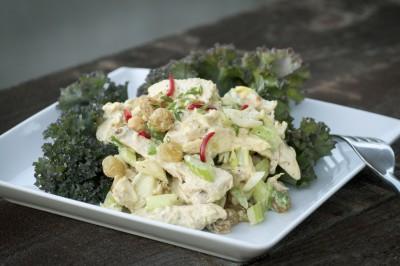 Paleo Chicken Salad Sandwich with Paprika