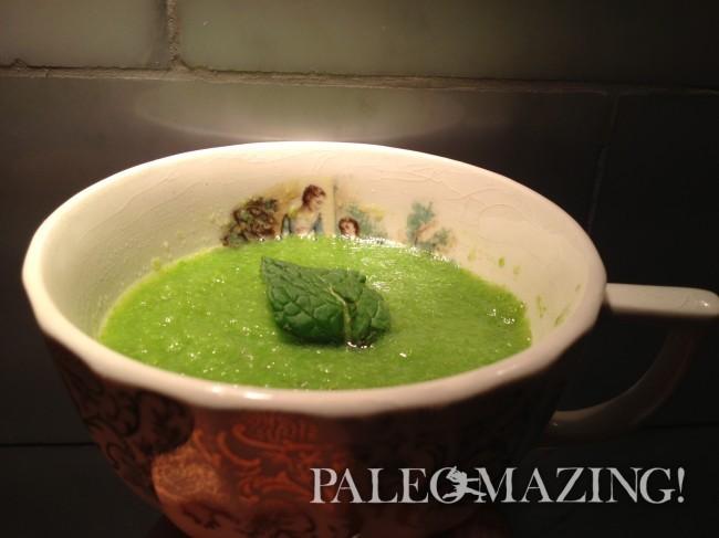 Paleo Creamy Asparagus Soup