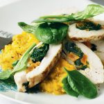 Paleo Apricots with Basil Chicken