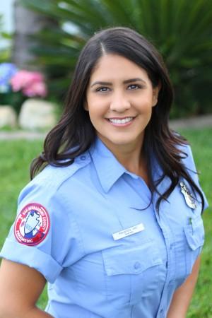 Alexandra Jabr in uniform