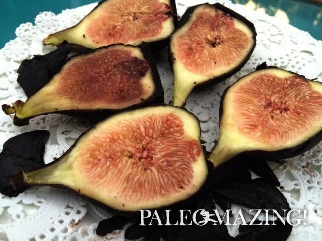 Paleo Homemade Dark Chocolate Dipped Fresh Figs