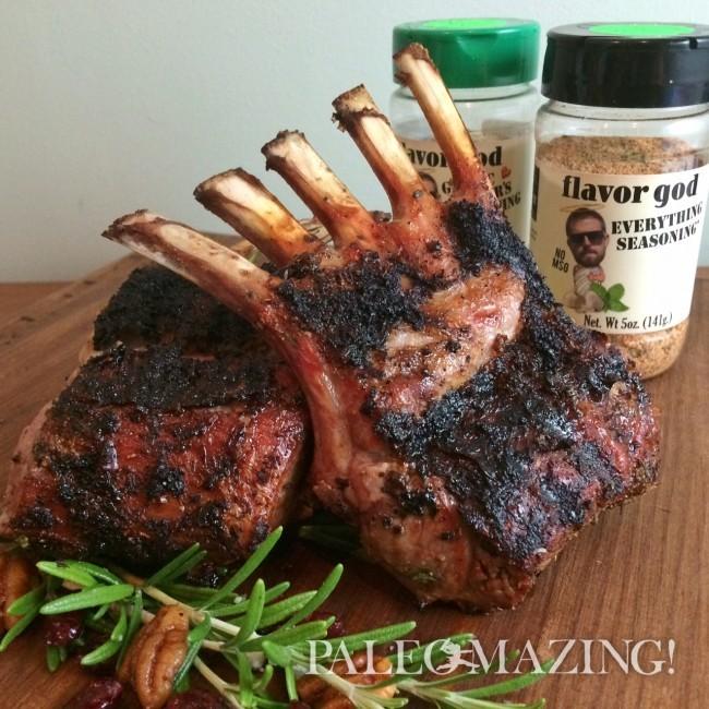 Tina and Flavor God's New Zealand Lamb Racks