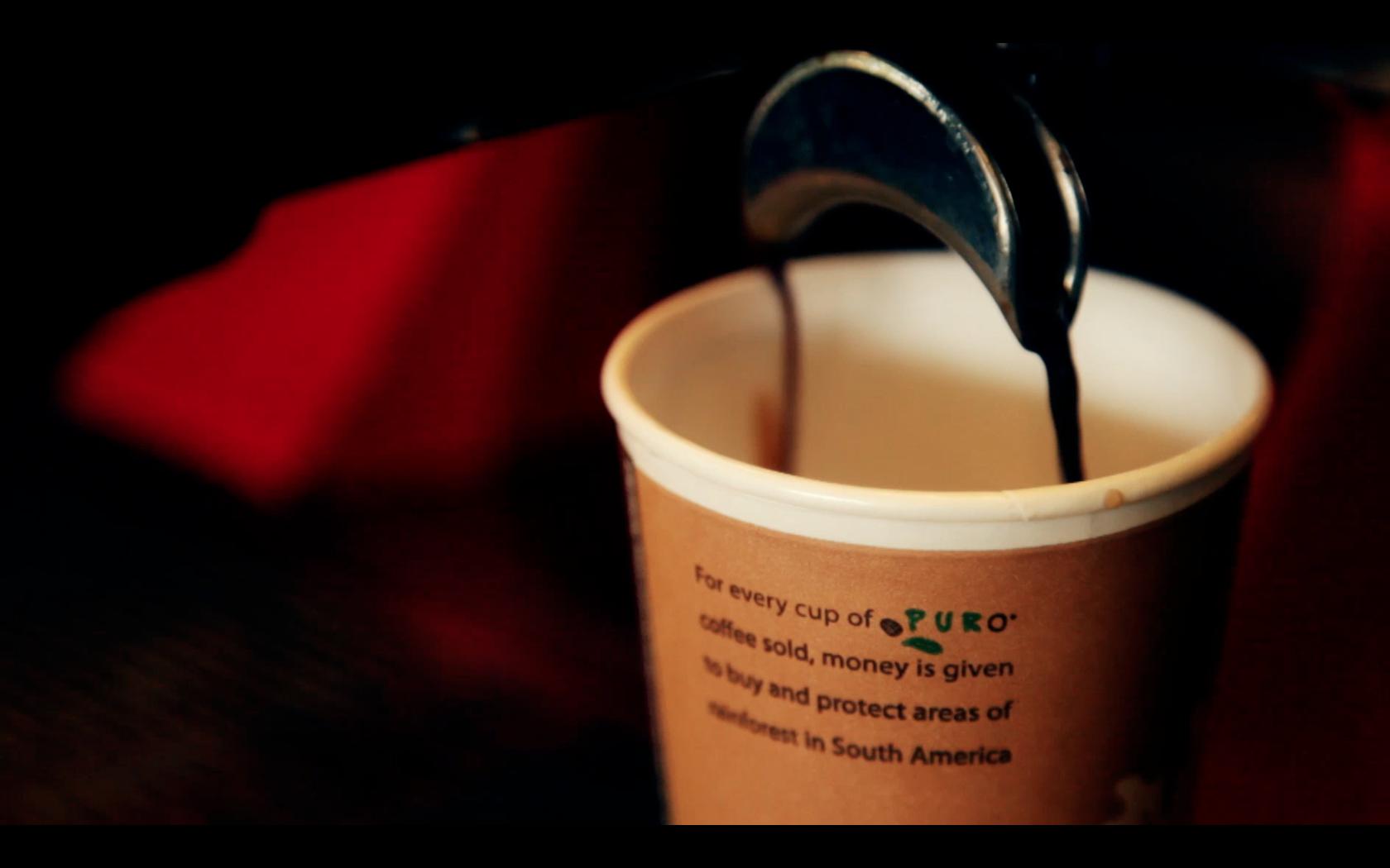Puro Coffee Pour