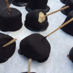 Dark Chocolate Dipped Frozen Bananas