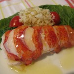 Lobster Tail with Melted Ghee