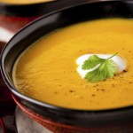 Paleo Bacon Butternut Squash Soup