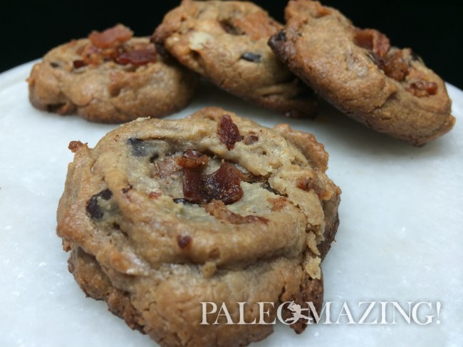 Nutbutter Bacon Cookies!