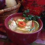 Spicy Mexican Chicken Zoodle Soup 1