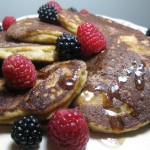 Fluffy Paleo Pancake with Waffle Option