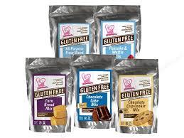 XO baking co gluten free mixes in bags