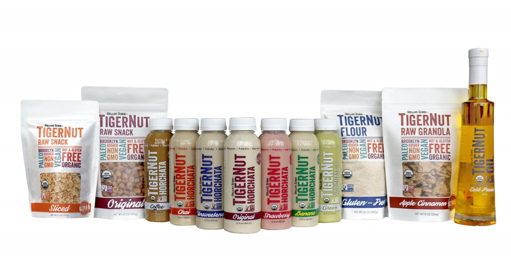 Organic Gemini paleo horchatas and products