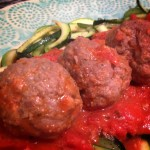 Simple Meatballs - featured