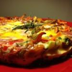 Tina's Paleo Crustless Tuscan Tart featured