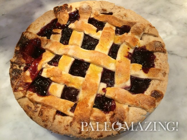 Cherry Pie – Paleo and Gluten-Free