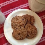 Vegan Chocolate Chip Cookies for Earth Day