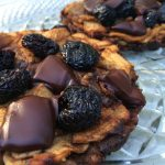 Paleo Chocolate Cherry Apple Tarts