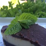 Paleo Raw Hazelnut Chocolate Mint Tart featured 2