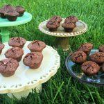 Gluten Free Chocolate Brownies Mini Muffin Heaven– OMG! featured