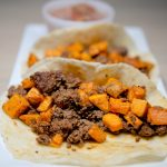 Paleo Tacos - Beef Chorizo and Sweet Potato