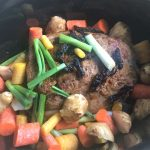 Crock Pot rump roast featured