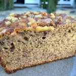 Walnut banana bread featured