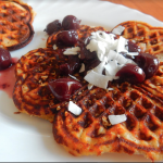 Paleo Waffles with Coconut 1