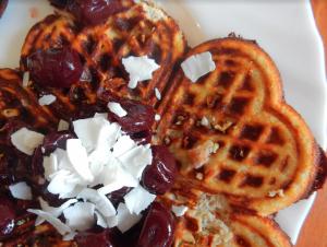 Paleo Waffles with Coconut 2