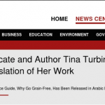 Tina Turbin is Proud of the Arabic Translation of Her Work