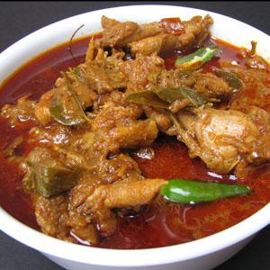 Paleo Curry Chicken