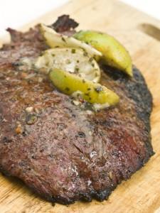 Paleo Flank Steak with Chimichurri Sauce