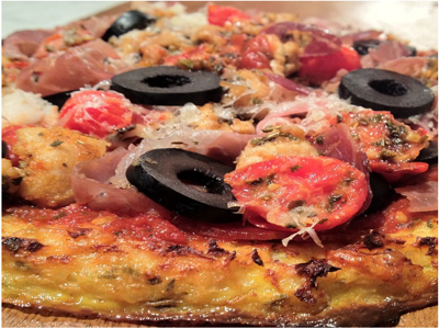 Paleo Pizza, Gluten-Free, Nut-Free, Dairy-Free, EASY and Delicious