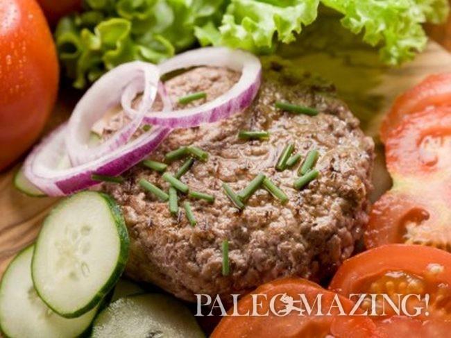 Paleo Hamburger, Gluten-Free Cajun's Choice