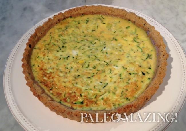 Paleo Gluten-Free Quiche