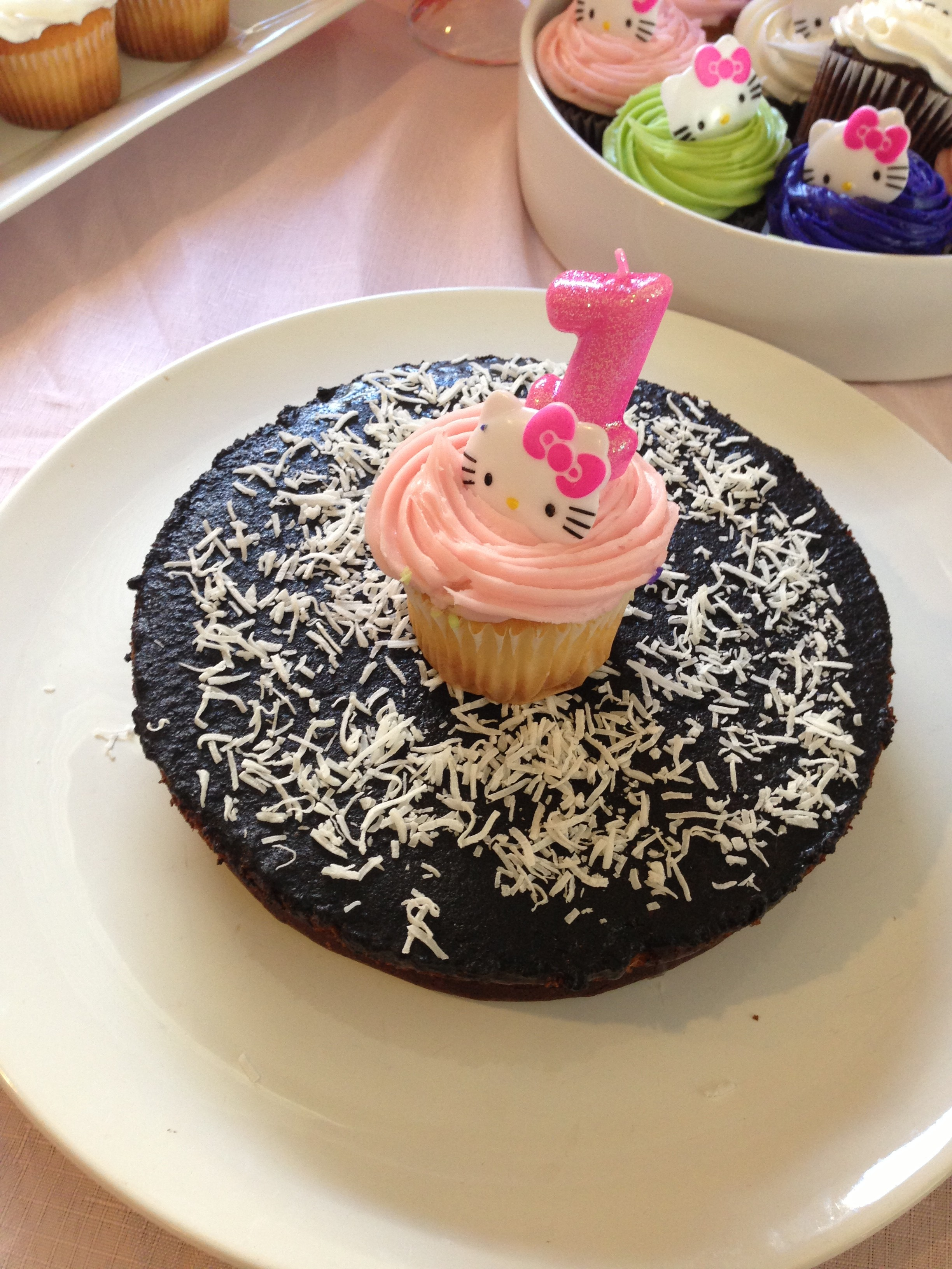 Blondie's Decadent Chocolate Birthday Cake