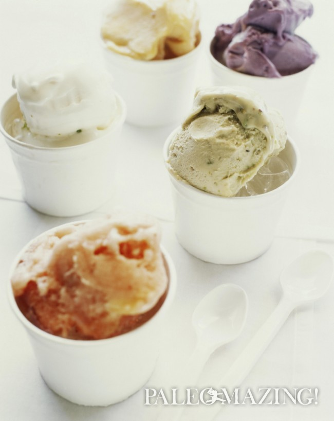 Paleo Butterscotch Ice Cream