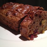 Paleo bread- dried fruit & pecans