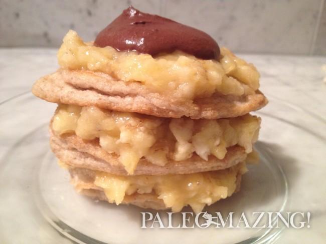 Paleo Golden Pancakes