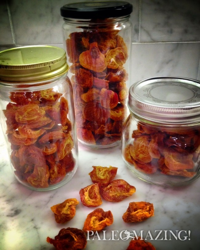 Paleo Healthy Dried Apricots