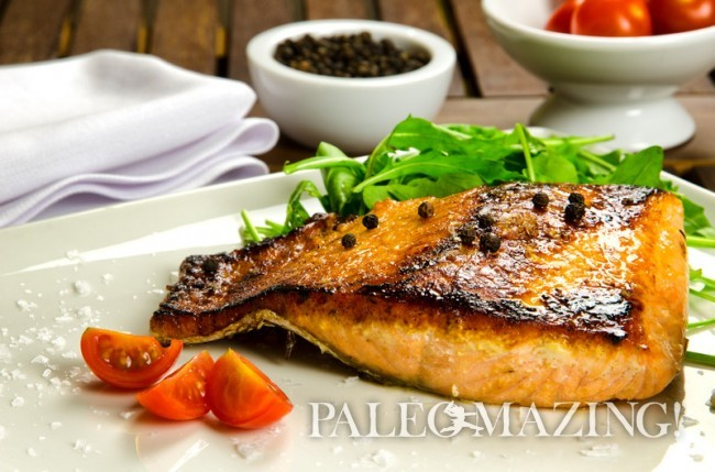 Paleo Maple Salmon Fillets
