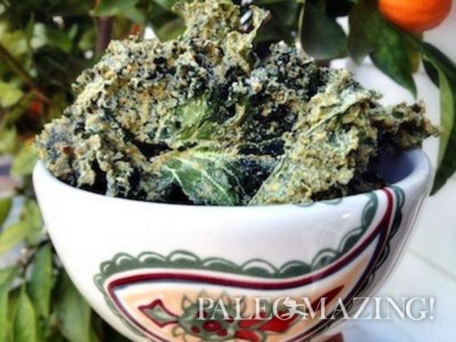 Paleo Chips – Kale Chipotle Appetizer