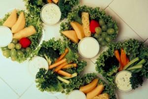 veggy platters