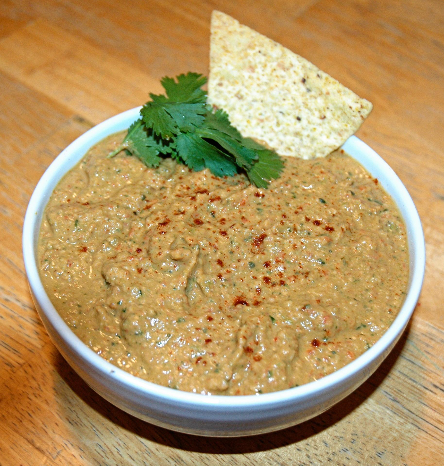 Paleo Grilled Zucchini Hummus