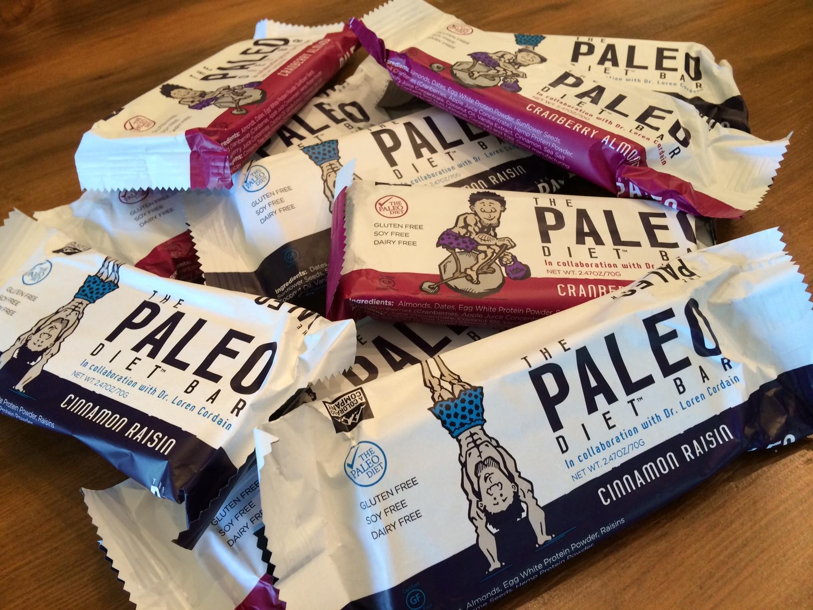 Paleo Diet Bars