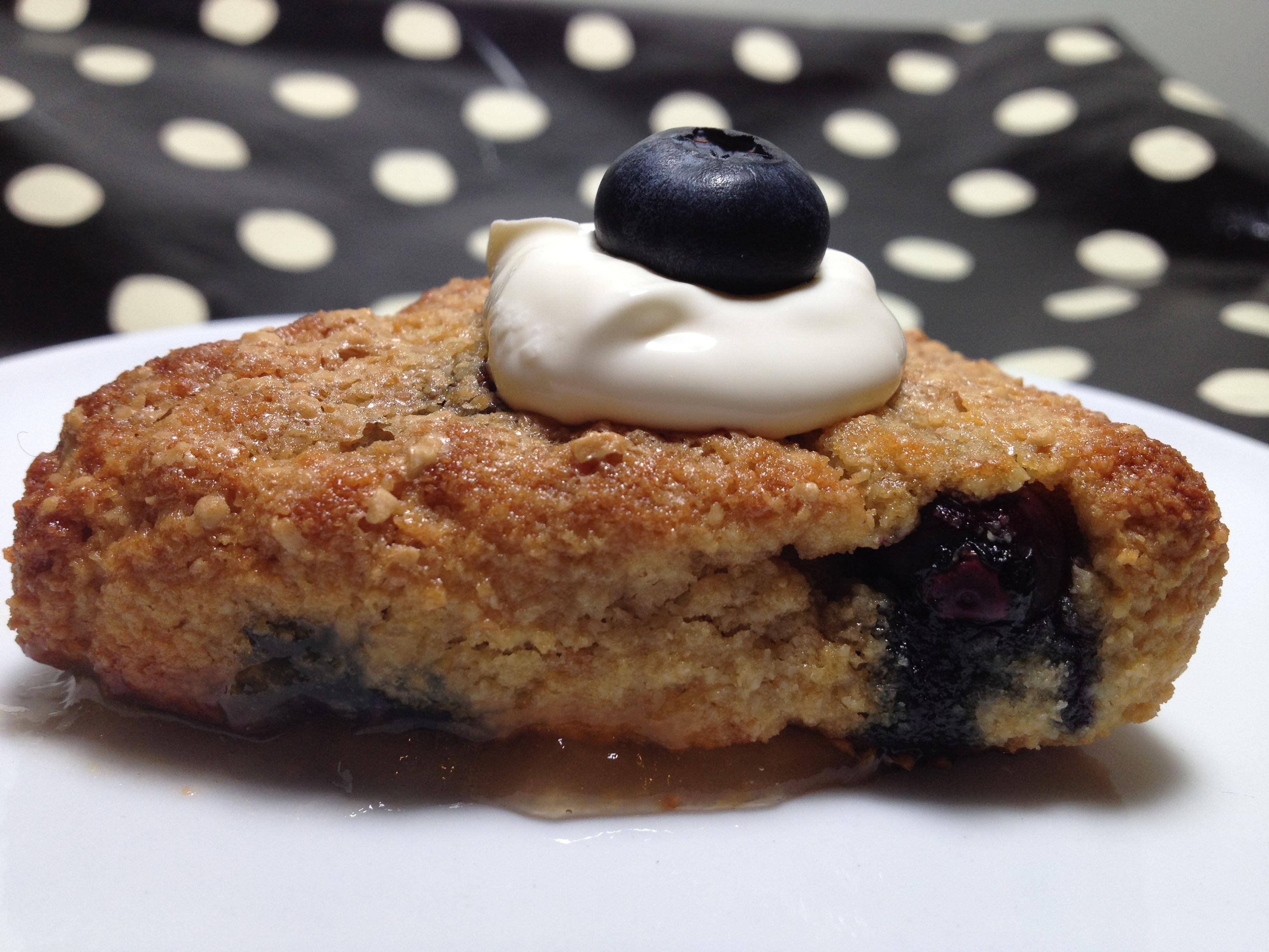 paleo blueberry scones