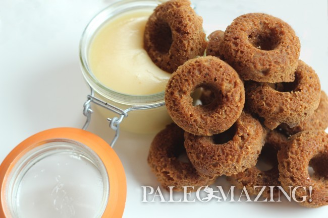 Paleo Gingerbread Donuts