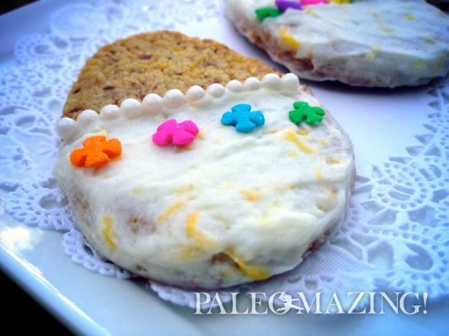 Gluten-Free, Paleo Lemon Zest Cookies
