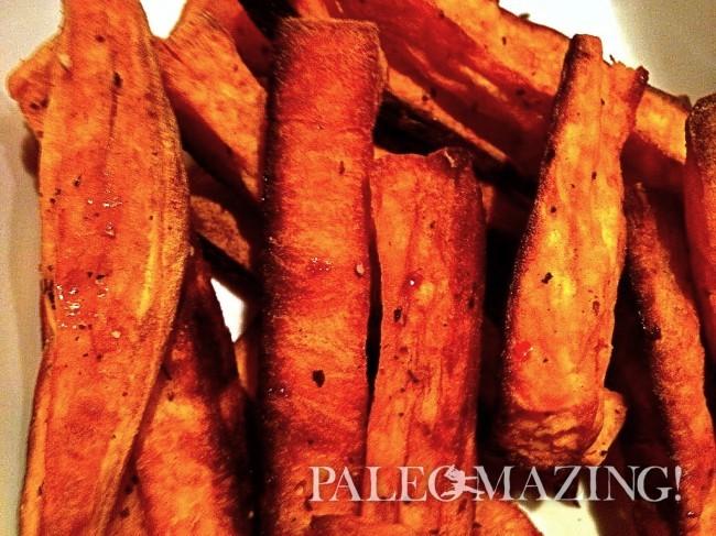 Different Paleo Sweet Potato Fries