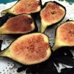 Paleo Dark Chocolate Dipped Fresh Figs