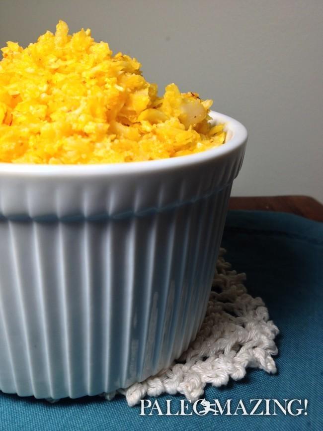 Cauliflower Rice Saffron Style